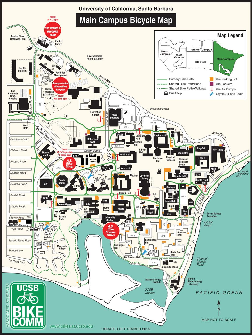 Map Of Ucsb Compressportnederland